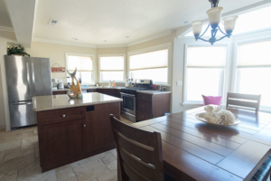 Kitchen Dining Area Unit A