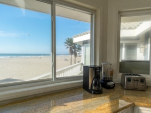 Ocean View from Kitchen Penthouse